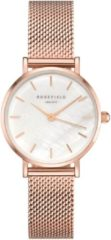 Rosefield Small Edit Dames Horloge - Rosé Goud Ø26mm - 26WR-265