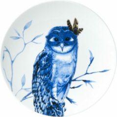 Bord uil klein| Heinen Delfts Blauw | Wandbord | Delfts Blauw bord | Design |