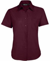 Paarse Overhemd Sols ESCAPE POPELIN WOMEN