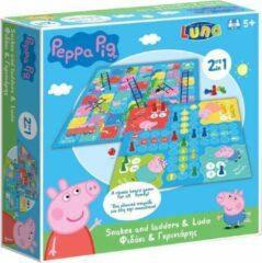 Luna Luna bordspel Peppa Pig 21,5 cm karton 2 stuks