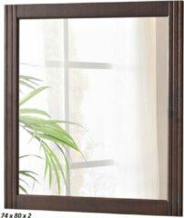 Bruine Sanifun spiegel Retro 800 x 740