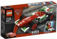 Gouden LEGO Cars 2 Ultimate Build Francesco - 8678