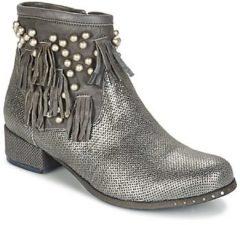 Zilveren Laarzen Mimmu MOONSTROP