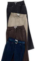 Zwarte COSMA Jeans in cotton-feeling-uitvoering