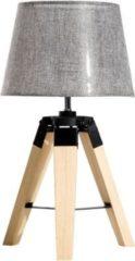 HOMCOM Tischlampe Nachttischlampe Tischleuchte Schlafzimmer Lampe