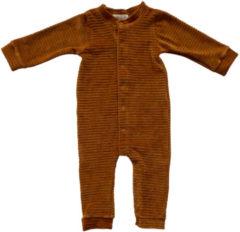 Witlof for kids corduroy velours boxpakje bruin