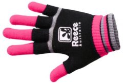 Roze Reece Australia Knitted Player Glove 2 in 1 Sporthandschoenen Unisex - Maat Junior