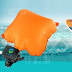 "GearBest ""Anti-drowning Wristband Inflatable Airbag Bracelet - Dark Orange"""