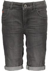 Blauwe TYGO & vito Jongens Stretch denim short - l.grey denim - Maat 98