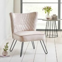BOLIVING Fauteuil Tarnby Roze