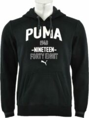 Zwarte Puma - Style ATHL. Hooded Sweat FL - Heren - maat S