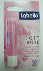 Labello Soft Rosé Lippenbalsem - 5,5ml