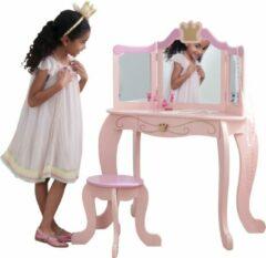Roze KidKraft Prinses Kaptafel & Stoel