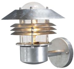 Konstsmide Modena 7302-320 Buitenlamp (wand) Energielabel: Afhankelijk van de lamp Spaarlamp, LED E27 60 W Verzinkt