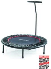 Zwarte Gymstick Opklapbare Fitness Trampoline - Mini Trampoline - Met Trainingsvideos