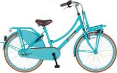 24 Zoll Popal Daily Dutch Basic+ TR24N3 Mädchen Holland Fahrrad 3 Gang Popal blau