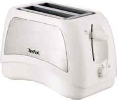 Tefal Toaster TT131E Delfini Plus, für 2 Scheiben, 850 Watt, weiß