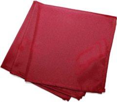 Wicotex Servetten Essentiel 40x40cm rood 3 stuks polyester
