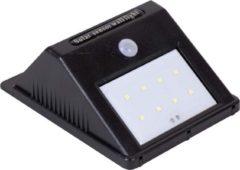 Zwarte Eurocatch Outdoor Wandlamp - Buitenlamp Zonne-energie met sensor - Solar lamp