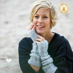 Zilveren De Reuver Knitted Fashion ARMWARMERS 100% NEDERLANDS (570)