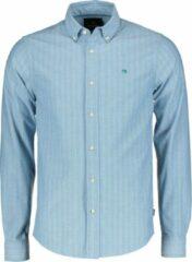 Scotch & Soda Overhemd - Slim Fit - Blauw - L