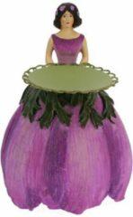 MEA Anemonen meisje kaarsenhouder 11,5x13x16cm