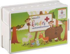 Witte HEKA / Kevin Wolter Events EHBO Kinder verbandtrommel - Oranje Kruis goedgekeurd. De enige verbanddoos met deze erkenning!