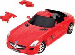 Rode Eureka 3D Puzzle Eureka 3D Puzzel Mercedes SLS AMG GT - Kunststof