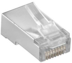 Goobay 15016 RJ45 Transparant kabel-connector