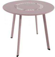 Lesli Living bijzettafel Dali roze 50x45cm