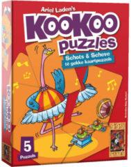 999 Games puzzel KooKoo Puzzle: Dansen junior karton 24 stukjes