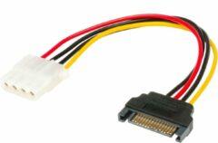 Akasa SATA to 4pin Molex adapter 15pin SATA Multi kleuren