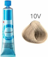Paarse GOLDWELL Colorance Farba do włosów 10V - ekstra jasny fioletowy blond 60 ml
