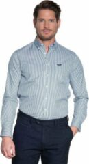 Donkergroene Donkervoort Overhemd Heren lange mouw