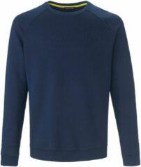 Sweatshirt van 100% katoen met raglanmouwen Van Louis Sayn blauw