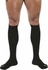 MisterB Voetbal sokken zwart 42-46