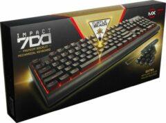 Zwarte Turtle Beach Impact 700 - premium backlight mechanisch QWERTY gaming toetsenbord