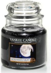 Donkerblauwe Yankee Candle Midsummer's Night Medium Jar