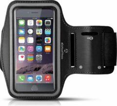 #DoYourFitness - Sportarmband - »RunnerMan« - Sportarmband geschikt voor mobiele telefoon - MEDIUM (146x74x10 - 155x8x10mm) 60CM armomvang - zwart