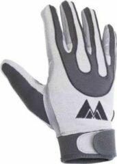 Grijze Meyer Marketing MM Football Receiver Gloves - Grey - XL