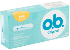 Ob O.B.® Tampons Original Normal - 16 stuks