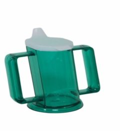 Able2 Almepro Drinkbeker Handycup met Deksel - Groen