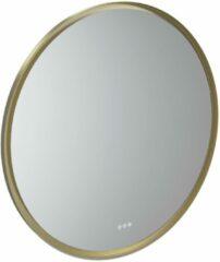 Gouden Thebalux Giro Spiegel Ø 110x4 cm Messing