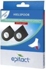 Epitact Hielspoor inleghakken met physio choc 36/40 2 Stuks