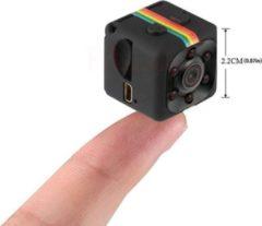 WiseGoods - Premium Mini Draadloze Video Camera - Spy Cam - Dashcam - Nachtzicht - Full HD - Zwart