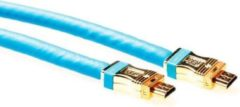 Advanced Cable Technology Intronics - 1.4 High Speed HDMI kabel - 15 m - Blauw