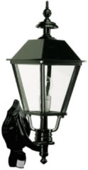 Groene KS Verlichting K.S. Verlichting Gevelverlichting Wandlamp Darwin + sensor