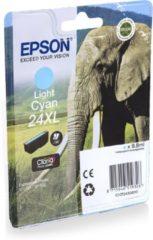 Cyane Epson 24XL (T2435) - Inktcartridge / Licht Cyaan / Hoge Capaciteit