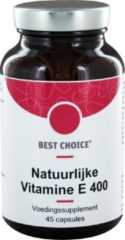 Best Choice Natuurlijke Vitamine E-400 Capsules 45st
