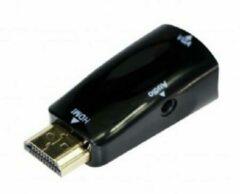 Zwarte Gembird CablExpert A-HDMI-VGA-02 - Adapterstekker HDMI - VGA, met audio